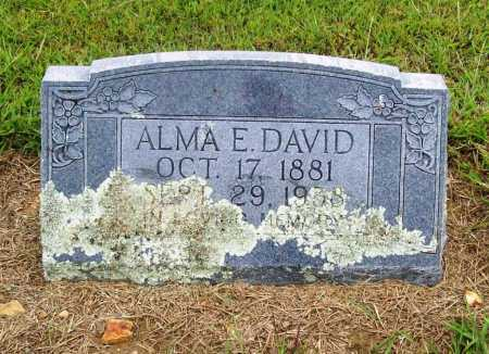 DAVID, ALMA E. - Benton County, Arkansas | ALMA E. DAVID - Arkansas Gravestone Photos