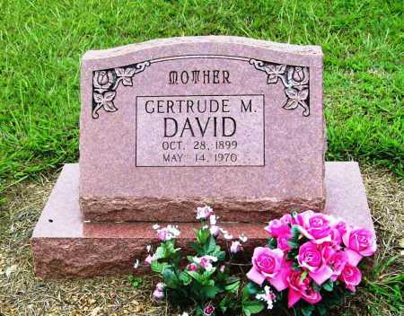 DAVID, GERTRUDE MARIE - Benton County, Arkansas | GERTRUDE MARIE DAVID - Arkansas Gravestone Photos