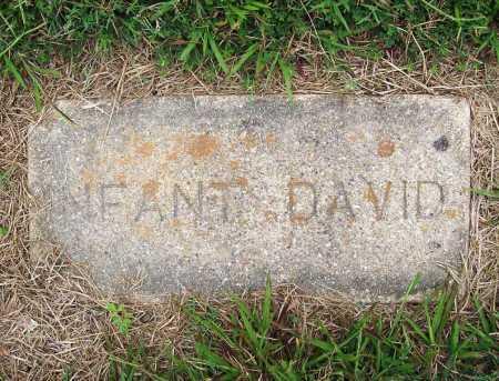 DAVID, INFANT - Benton County, Arkansas | INFANT DAVID - Arkansas Gravestone Photos