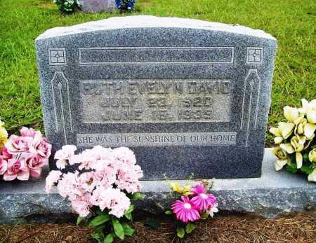 DAVID, RUTH EVELYN - Benton County, Arkansas | RUTH EVELYN DAVID - Arkansas Gravestone Photos