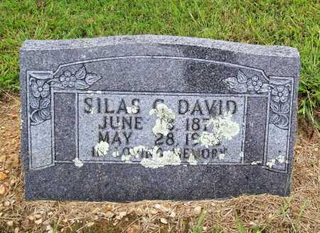 DAVID, SILAS G. - Benton County, Arkansas | SILAS G. DAVID - Arkansas Gravestone Photos