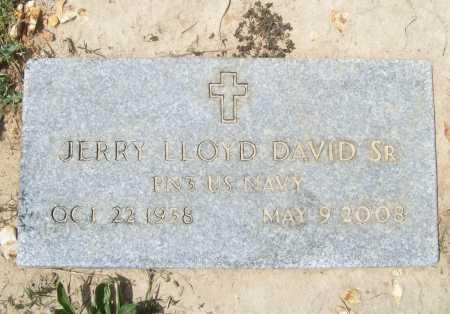 DAVID, SR (VETERAN), JERRY LLOYD - Benton County, Arkansas | JERRY LLOYD DAVID, SR (VETERAN) - Arkansas Gravestone Photos