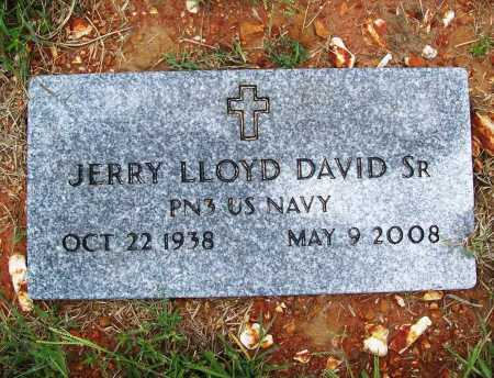 DAVID, SR (VETERAN), JERRY LLOYD - Benton County, Arkansas | JERRY LLOYD DAVID, SR (VETERAN) - Arkansas Gravestone Photos