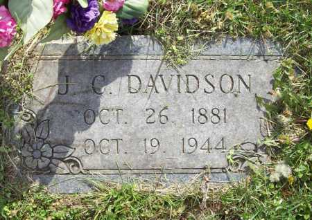 DAVIDSON, J. C. - Benton County, Arkansas | J. C. DAVIDSON - Arkansas Gravestone Photos