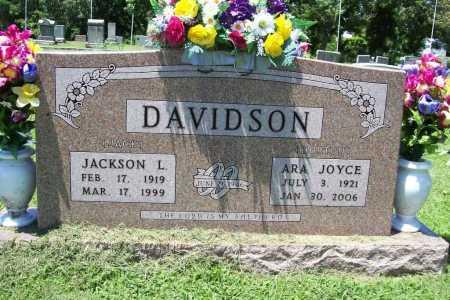 DAVIDSON, ARA JOYCE - Benton County, Arkansas | ARA JOYCE DAVIDSON - Arkansas Gravestone Photos
