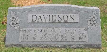 DAVIDSON, MARION C. - Benton County, Arkansas | MARION C. DAVIDSON - Arkansas Gravestone Photos