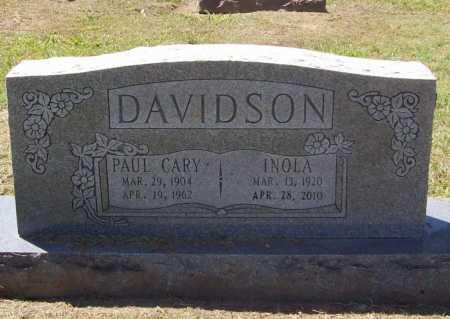DAVIDSON, PAUL CARY - Benton County, Arkansas | PAUL CARY DAVIDSON - Arkansas Gravestone Photos