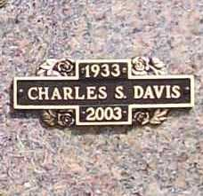 DAVIS, CHARLES S. - Benton County, Arkansas | CHARLES S. DAVIS - Arkansas Gravestone Photos