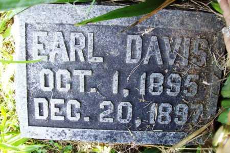 DAVIS, EARL - Benton County, Arkansas | EARL DAVIS - Arkansas Gravestone Photos