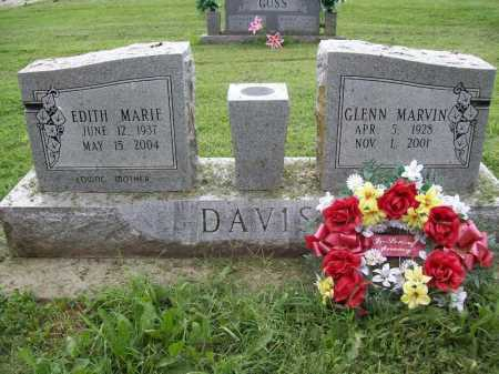 DAVIS, GLENN MARVIN - Benton County, Arkansas | GLENN MARVIN DAVIS - Arkansas Gravestone Photos