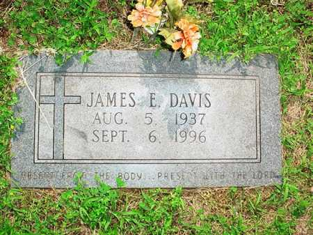 DAVIS, JAMES E. - Benton County, Arkansas | JAMES E. DAVIS - Arkansas Gravestone Photos