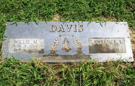 DAVIS, WILLIE MAE - Benton County, Arkansas | WILLIE MAE DAVIS - Arkansas Gravestone Photos