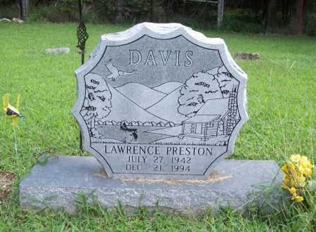 DAVIS, LAWRENCE PRESTON - Benton County, Arkansas | LAWRENCE PRESTON DAVIS - Arkansas Gravestone Photos