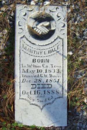 DAVIS, MARTHY L. - Benton County, Arkansas | MARTHY L. DAVIS - Arkansas Gravestone Photos