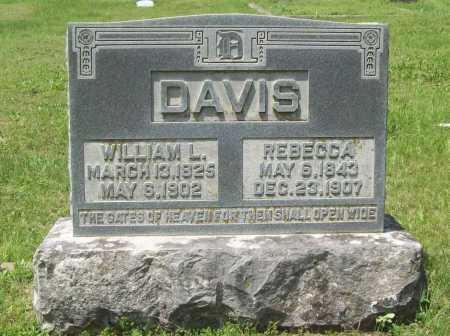 DAVIS, WILLIAM L. - Benton County, Arkansas | WILLIAM L. DAVIS - Arkansas Gravestone Photos