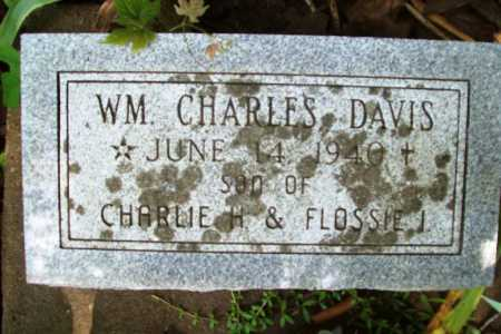 DAVIS, WILLIAM CHARLES - Benton County, Arkansas | WILLIAM CHARLES DAVIS - Arkansas Gravestone Photos