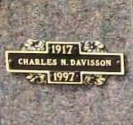 DAVISSON, CHARLES N. - Benton County, Arkansas | CHARLES N. DAVISSON - Arkansas Gravestone Photos