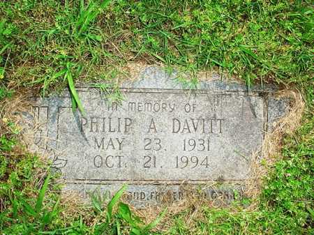 DAVITT, PHILIP A. - Benton County, Arkansas | PHILIP A. DAVITT - Arkansas Gravestone Photos