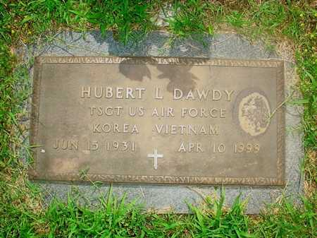 DAWDY (VETERAN 2 WARS), HUBERT L. - Benton County, Arkansas | HUBERT L. DAWDY (VETERAN 2 WARS) - Arkansas Gravestone Photos