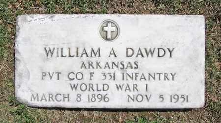 DAWDY (VETERAN WWI), WILLIAM A. - Benton County, Arkansas | WILLIAM A. DAWDY (VETERAN WWI) - Arkansas Gravestone Photos