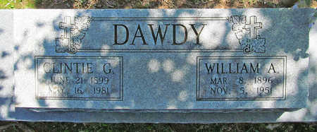 DAWDY, CLINTIE G. - Benton County, Arkansas | CLINTIE G. DAWDY - Arkansas Gravestone Photos