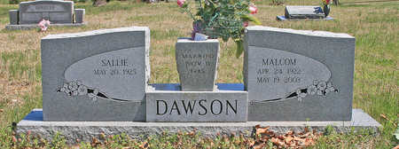 DAWSON, MALCOM - Benton County, Arkansas | MALCOM DAWSON - Arkansas Gravestone Photos