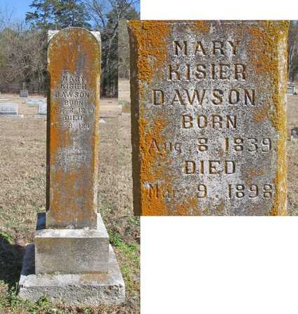 KISIER DAWSON, MARY - Benton County, Arkansas | MARY KISIER DAWSON - Arkansas Gravestone Photos