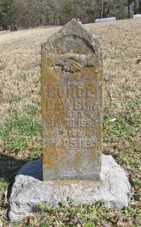 DAWSON, MUNCE - Benton County, Arkansas   MUNCE DAWSON - Arkansas Gravestone Photos