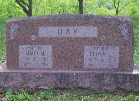 DAY, ELMER L. - Benton County, Arkansas | ELMER L. DAY - Arkansas Gravestone Photos