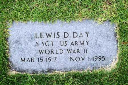 DAY (VETERAN WWII), LEWIS D. - Benton County, Arkansas | LEWIS D. DAY (VETERAN WWII) - Arkansas Gravestone Photos