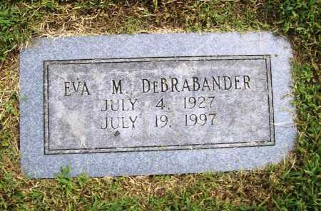 DE BRABANDER, EVA M. - Benton County, Arkansas | EVA M. DE BRABANDER - Arkansas Gravestone Photos