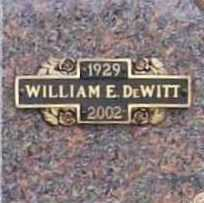DE WITT, WILLIAM E. - Benton County, Arkansas | WILLIAM E. DE WITT - Arkansas Gravestone Photos