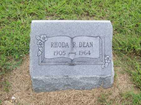 DEAN, RHODA REBECCA - Benton County, Arkansas | RHODA REBECCA DEAN - Arkansas Gravestone Photos