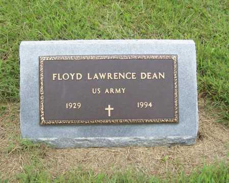 DEAN (VETERAN), FLOYD LAWRENCE - Benton County, Arkansas | FLOYD LAWRENCE DEAN (VETERAN) - Arkansas Gravestone Photos