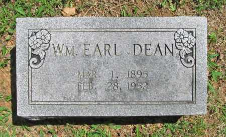 DEAN, WILLIAM EARL - Benton County, Arkansas | WILLIAM EARL DEAN - Arkansas Gravestone Photos