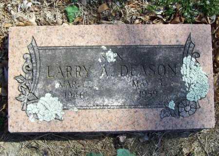 DEASON, LARRY A. - Benton County, Arkansas | LARRY A. DEASON - Arkansas Gravestone Photos