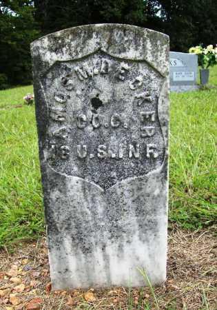 DECKER (VETERAN), AMOS M - Benton County, Arkansas | AMOS M DECKER (VETERAN) - Arkansas Gravestone Photos