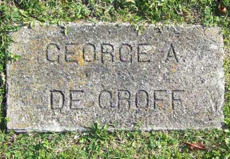 DEGROFF, GEORGE A. - Benton County, Arkansas | GEORGE A. DEGROFF - Arkansas Gravestone Photos