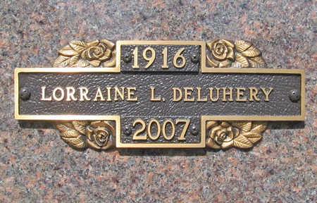 DELUHERY, LORRAINE LOURA - Benton County, Arkansas | LORRAINE LOURA DELUHERY - Arkansas Gravestone Photos