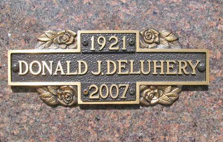 DELUHERY (VETERAN WWII), DONALD JOHN - Benton County, Arkansas | DONALD JOHN DELUHERY (VETERAN WWII) - Arkansas Gravestone Photos