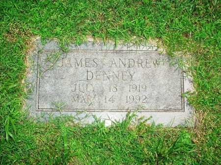 DENNEY, JAMES ANDREW - Benton County, Arkansas | JAMES ANDREW DENNEY - Arkansas Gravestone Photos