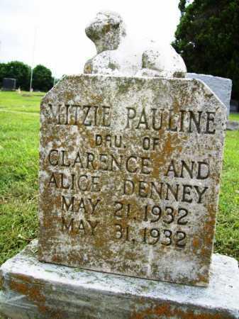 DENNEY, MITZIE PAULINE - Benton County, Arkansas | MITZIE PAULINE DENNEY - Arkansas Gravestone Photos