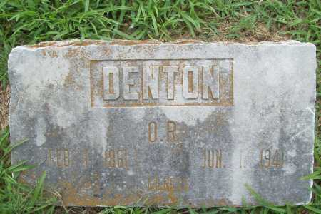 DENTON, O. R. - Benton County, Arkansas | O. R. DENTON - Arkansas Gravestone Photos