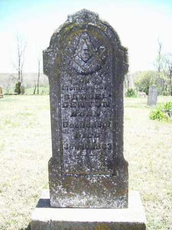 DENTON, SAMUEL - Benton County, Arkansas | SAMUEL DENTON - Arkansas Gravestone Photos