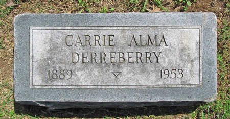 DERREBERRY, CARRIE ALMA - Benton County, Arkansas | CARRIE ALMA DERREBERRY - Arkansas Gravestone Photos