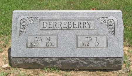 DERREBERRY, EDWARD LAMBETH - Benton County, Arkansas | EDWARD LAMBETH DERREBERRY - Arkansas Gravestone Photos