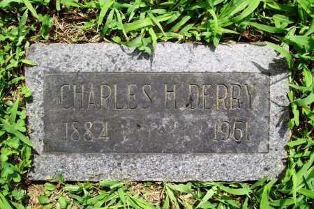 DERRY, CHARLES H. - Benton County, Arkansas | CHARLES H. DERRY - Arkansas Gravestone Photos