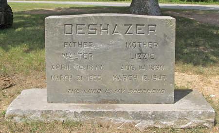 DESHAZER, WALTER - Benton County, Arkansas | WALTER DESHAZER - Arkansas Gravestone Photos