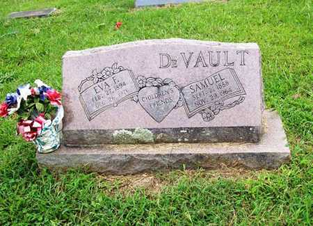 DEVAULT, EVA F. - Benton County, Arkansas | EVA F. DEVAULT - Arkansas Gravestone Photos