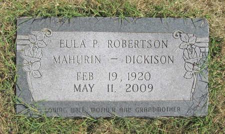 ROBERTSON MAHURIN, EULA PEARL - Benton County, Arkansas | EULA PEARL ROBERTSON MAHURIN - Arkansas Gravestone Photos